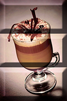 Декор керамический Absolut Keramika Monocolor Composicion Coffee Capuccino Marron 20х30
