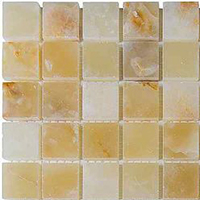 Мозаика Chakmaks Anatolian Stone LIGHT HONEY ONYX 23х23