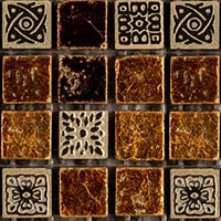 Мозаика Natural Mosaic CPR-1504 (CPR-4; PHARAOH-AMBER) (15х15 )