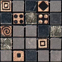 Мозаика Natural Mosaic CPR-1505 (CPR-5; PHARAOH-IRON) (15х15 )