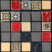 Мозаика Natural Mosaic CPR-1506 (CPR-6; PHARAOH-FIRE) (15х15 )