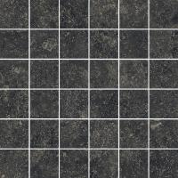 Мозаика Italon Room Mosaico Black Stone 30x30