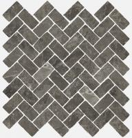 Мозаика Italon Room Mosaico Cross Grey Stone 31,5x29,5