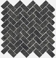 Мозаика Italon Room Mosaico Cross Black Stone 31,5x29,5
