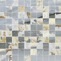 Mos.Q.Solitaire Mix Lapp. Grey tess. 30x30 (2.9x2.9)